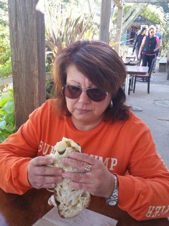 Big Sur Bakery & Restaurant: Turkey sandwich