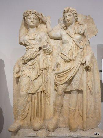 Geyre, Türkei: more statues