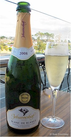 Silverdale, New Zealand: Johanneshof Marlborough Blanc de Blancs 2008 ($58)