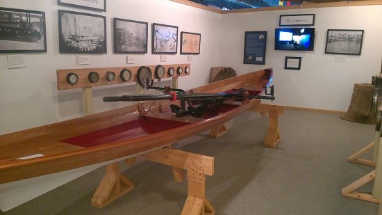 Exhibits in the Apalachicola Maritime Museum.