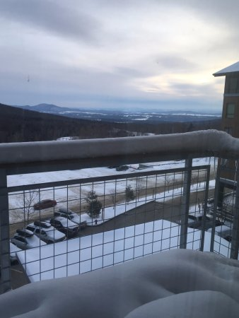 Jay Peak Resort: 4th floor balcony