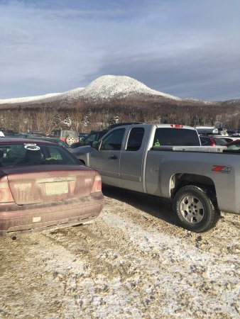 Jay Peak Resort: parking lot