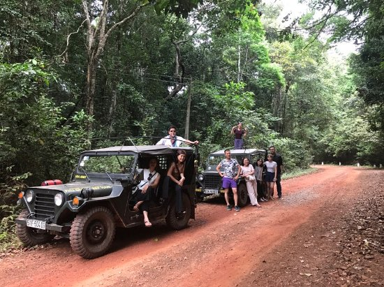 Phu Quoc-øen, Vietnam: Jeep Tour in the jungle