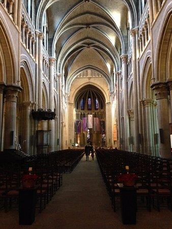Cathedrale de Lausanne: inside