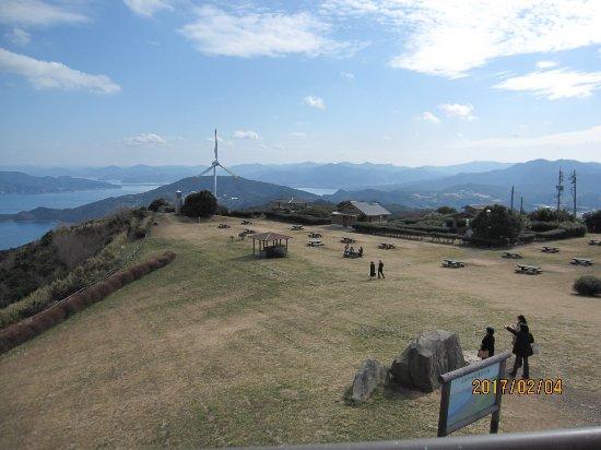 Senjojiki : 千畳敷CAFEの屋上からとった風景