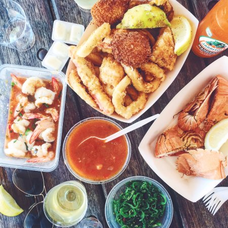 Woy Woy, Australia: Takeaway Fish and Chips, Balmain Bugs and Scampi