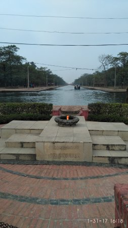 Lumbini, Nepal: The Eternal Peace Lamp