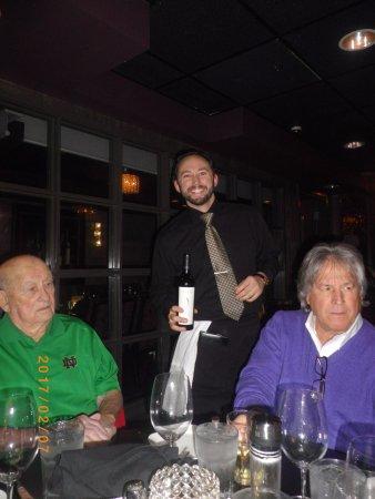 Clayton, MO: Our waiter, Josh!