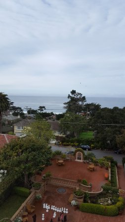 La Playa Carmel: Lovely view from room 408