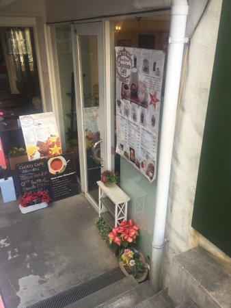 Queen's Collection Chocolate Cafe Daikanyama: Cafe entrance