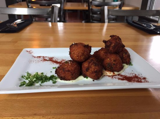 Goldendale, WA: Cod fritters!