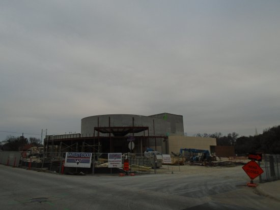 Belton, Teksas: Performing Arts Center Under Construction