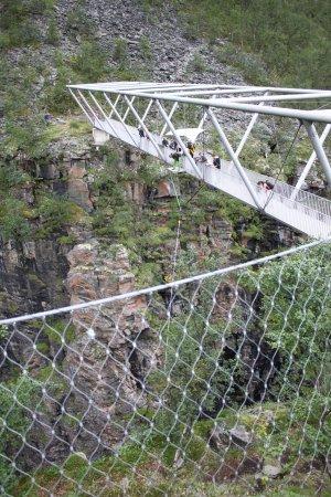 Birtavarre, Norway: Мост Горса.