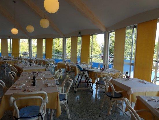 Duna Verde, Italia: ristorante panoramico al 4° piano