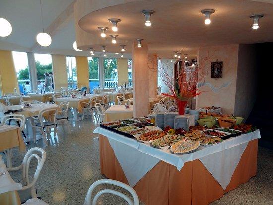 Duna Verde, İtalya: il ristorante