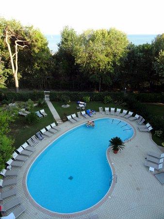 Duna Verde, Italia: la piscina dall'alto
