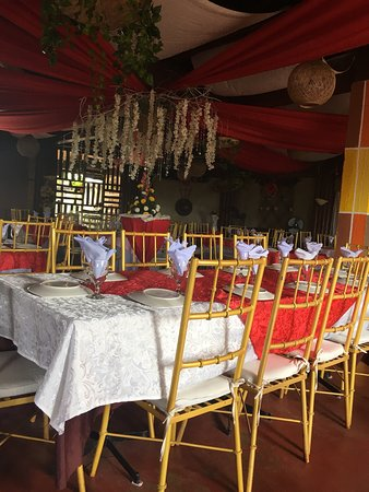 Baybay, Philippines: Dining area
