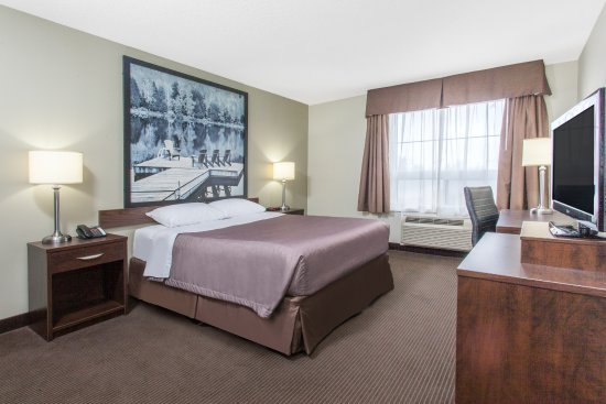 Red Lake, Kanada: Queen Handicap room