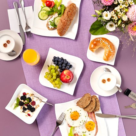 Bad Radkersburg, Austria: Frühstück in der Lounge