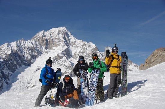 Chamonix Snowboard School