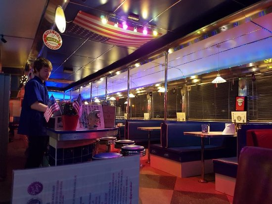 New Lighting Picture Of 50 S American Diner Church