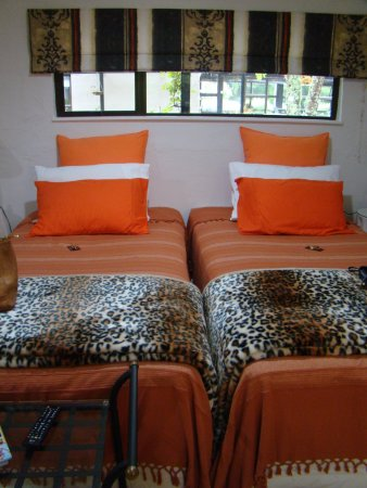 Te Popo Gardens and Accommodation: Wild Cats Room (has ensuite bathroom and beautiful views)