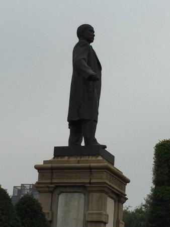 Bronze Statue of Sun Yat-sen Foto