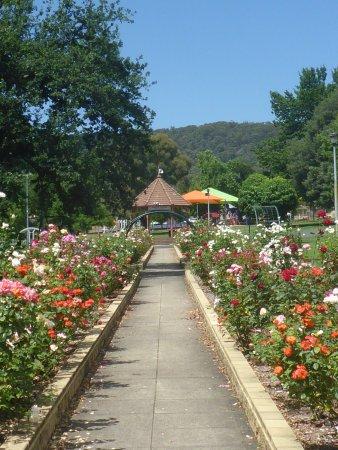 Lithgow, Australien: Bandstand & Playground