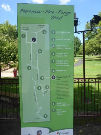 Queen Elizabeth Park Lithgow NSW