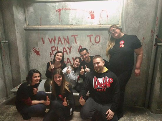 Mission Impossible Picture Of Game Over Escape Rooms