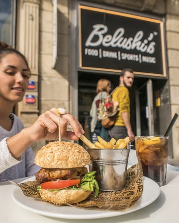 Belushi's: Sun drenched terrace