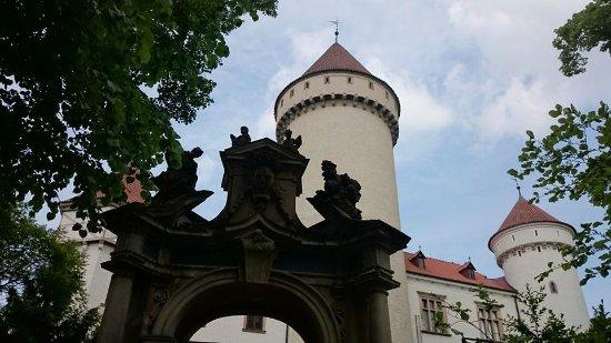 Bohemia, Czech Republic: Konopiště castle