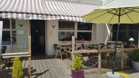 Restaurant Les Begonias: Bienvenue !