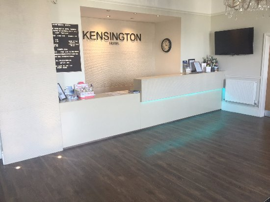 Kensington Hotel: New Reception