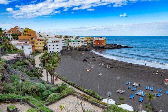 La plage photo de playa jardin puerto de la cruz tripadvisor - Jardin caleta tenerife sur ...