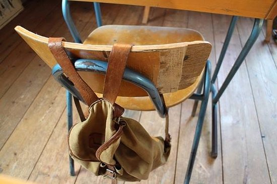 Kokkola, Finlandia: Old school backpack