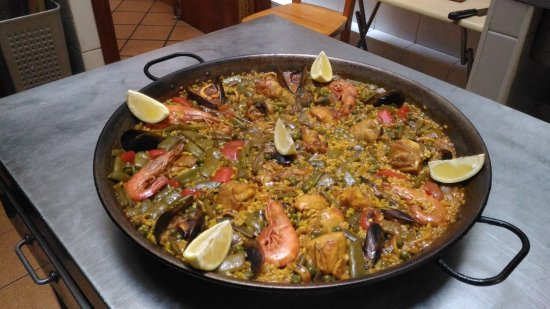 Торребланка, Испания: Paella mixta