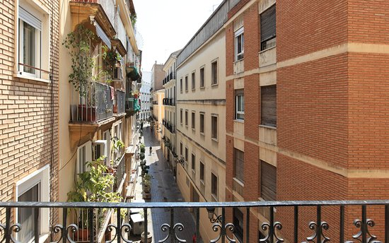 Center Valencia Youth Hostel: Calle Samaniego