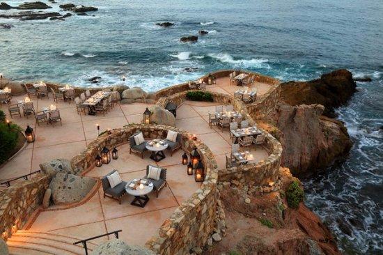 Cocina del Mar cliffs
