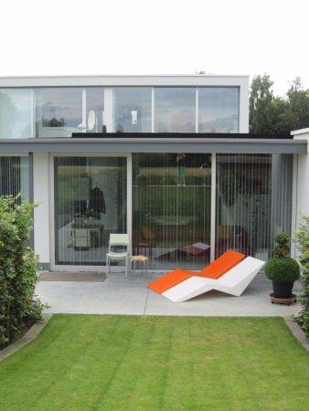 Kaprijke, Bélgica: Terras sauna-suite