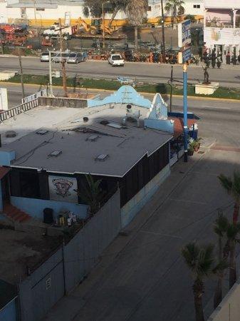 Tacos Baja Jr.: View from Las Olas condos