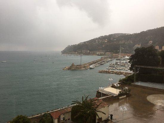 Les Musees de La Citadelle: villefranche winter downpour