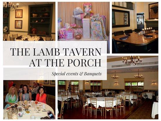 The Porch Restaurant at The Lamb: Events