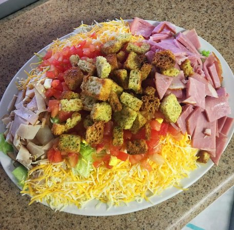 Weidman, MI: Chef Salad. Visit Elly May Dining on Facebook for more!