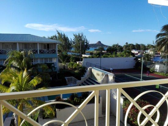 blu St Lucia Foto
