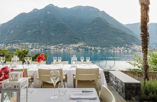 Pognana Lario, Italia: Villa Làrio - italian Restaurant / Terrace