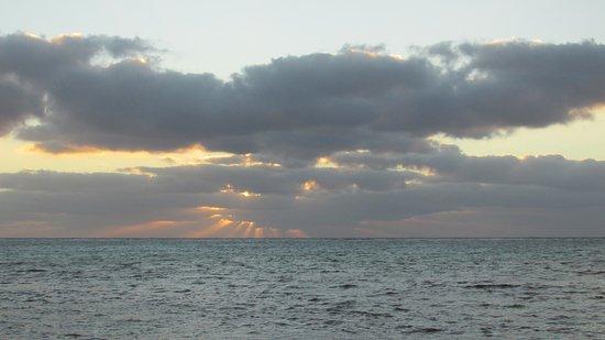 Sin Duda Villas: just one sunrise photo (of many taken)