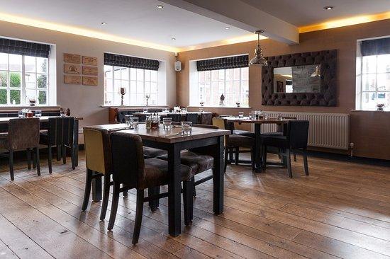 Belton, UK: Dining area