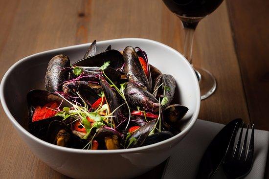 Belton, UK: Thai mussels