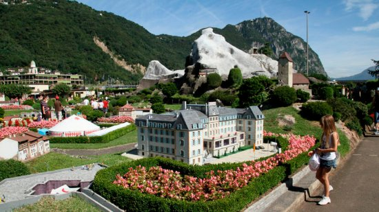 Swissminiatur: Melide 08-2016